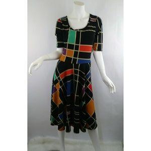 Lularoe Nicole Dress Sz Large NWT